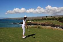 南の島のゴルフコース...