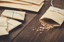 Paper Bags With Seeds For Plan...