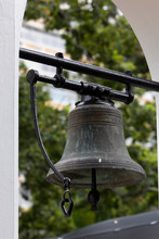 Old Slave Bell Used On Farm, Slavery