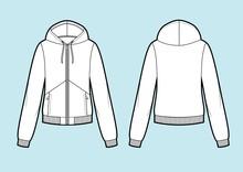 Vector. Women's Hooded Sweatsh...