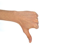 Single Hand With Thump Down
