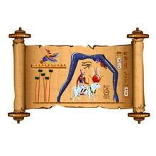 Ancient Egypt Papyrus Scroll C...