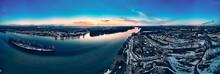 Panoramic Aerial View: Beautif...