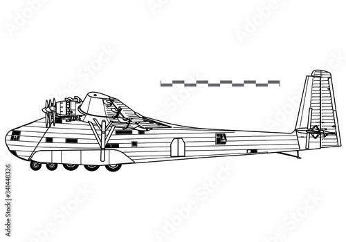 Messerschmitt Me 323 Gigant Canvas Print