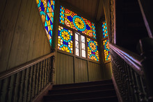 Stained Glass Window In The Ho...