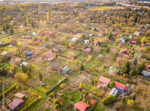 Photo Allotment gardens in Rzeszow