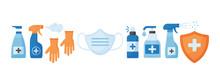 Disinfection. Virus Prevention...