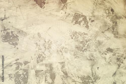 Valokuvatapetti Photograph of not exactly plastered wall