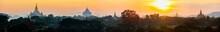 Sunset Over Bagan Myanmar