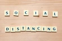 Social Distancing Message