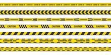 Set Of Danger Or Warning Cauti...