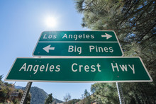 Angeles Crest Highway Directio...