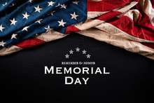 Happy Memorial Day. American F...