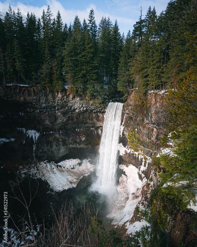 Waterfall winter