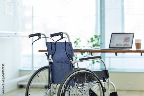 車椅子 ビジネス Tapéta, Fotótapéta