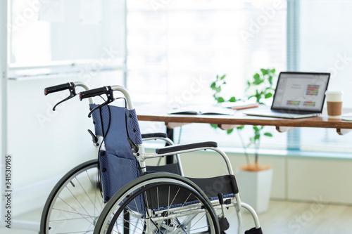 Slika na platnu 車椅子 ビジネス
