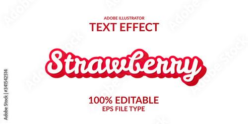 red script cute adobe illustrator text effect Tapéta, Fotótapéta