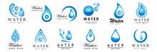 Water Splash Vector And Drop S...