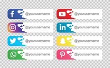 Social Media Icon. Vector Illu...