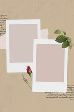 Photo Frame Template Illustrat...