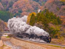 日本の鉄道、蒸気機関車、SL、Steam Locomotive
