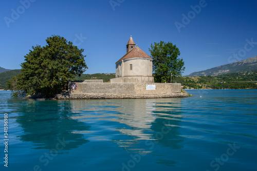Photo serpençon, France, ile, lac artificiel, barrage