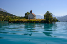 Serpençon, France, Ile, Lac A...