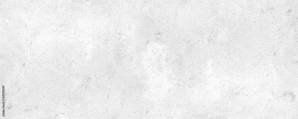 Fototapeta horizontal white cement and concrete texture for pattern and background.