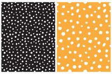 Simple Rough Dotted Seamless V...
