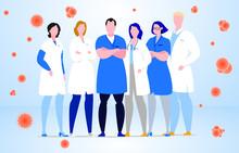 Group Of Hospital Medical Staf...