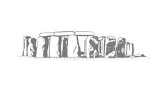 Vector Stonehenge Illustration...