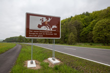 Former West-east German Border