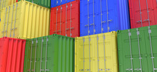 Shipping Container Cargo 3d Re...