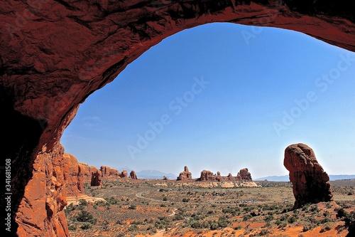 Fotografia Scenic View Of Arches National Park