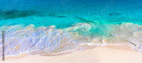 Obraz High Angle View Of Sea - fototapety do salonu