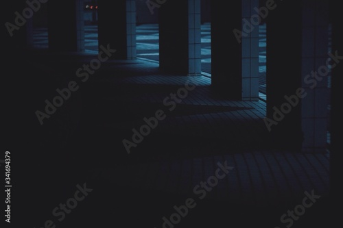 Photographie Empty Colonnade