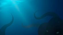 Underwater Landscape, Dark Dee...