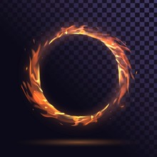 Ring Of Fire Burning, Round Fr...