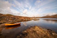 The Rowing Boat On Loch Druim ...