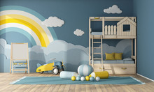Interior Of Children Room With...