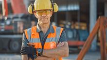 Portrait Of Successful Builder...