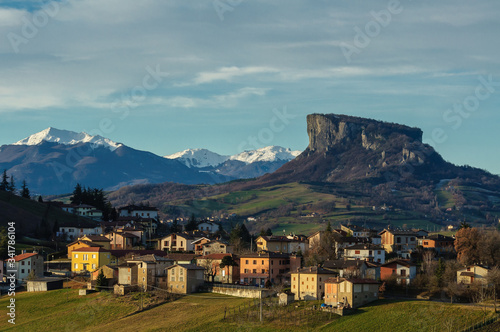 the Tuscan-Emilian Apennines (Italy) Canvas Print