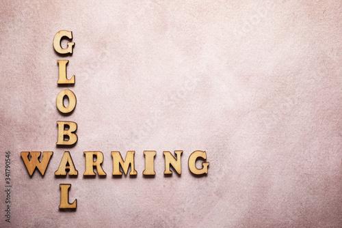 Obrazy z napisami  global-warming-text