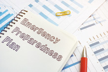 Emergency Preparedness Plan Is Shown On The Business Photo