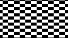 Black And White Pattern Checke...
