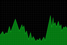 Line Graph Showing The Rise An...