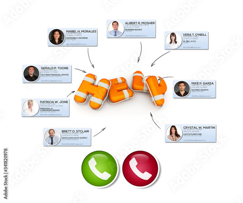 Help virtual meeting Canvas-taulu