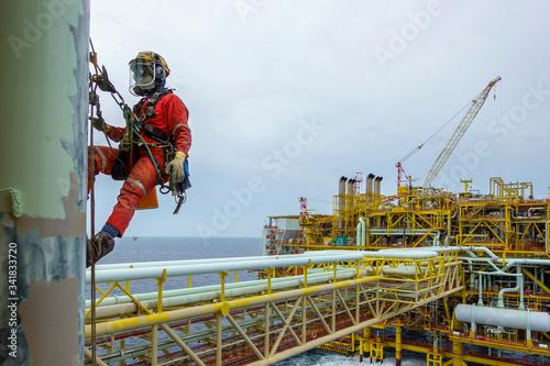 Cuadros en Lienzo Working at height