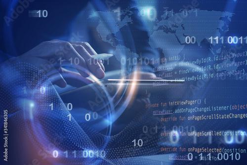 Fototapeta Software development obraz