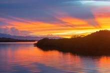 Sunrise Over Mangrove Island I...